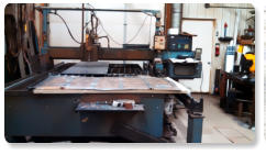 CNC plasma steel cutting machine